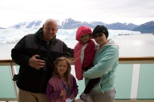 Cruising the Hubbard Glacier